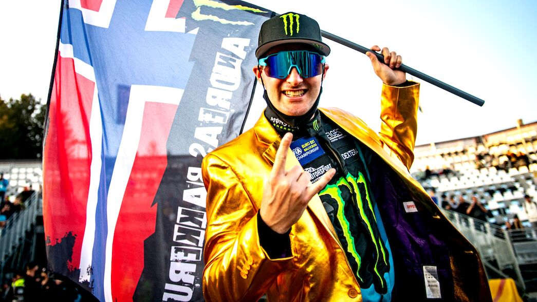 Bakkerud hints at 'more to come' as he reflects upon title triumph