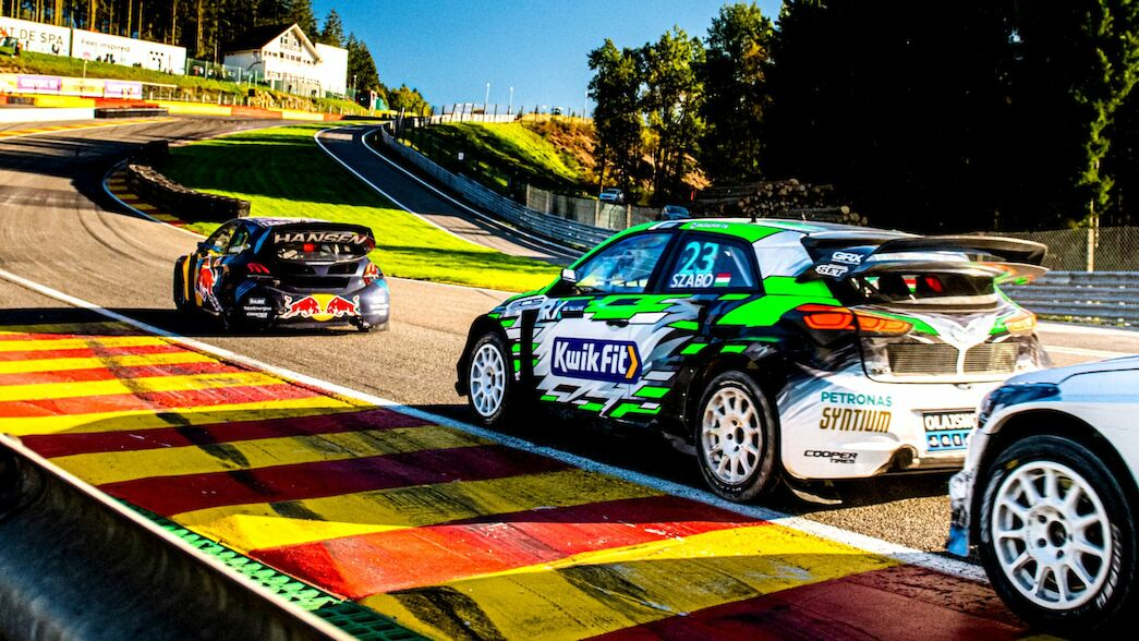 'Proud' moment as Szabó 'finally' reaches World RX rostrum at Spa
