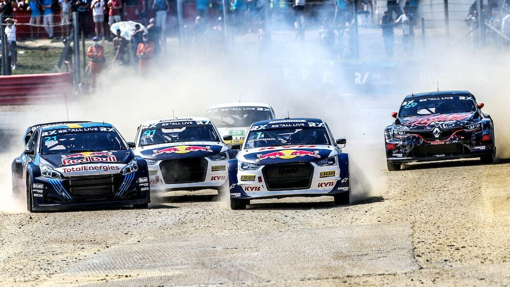 Entry lists released for Benelux World RX of Spa-Francorchamps